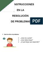 Autoinstrucciones Problemas
