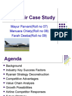 ryanair case study business strategy Ryan air case - study ryanair passenger growth in millions describe ryanair new strategy innovation to take over the european market for business testimonials.