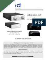 Obelisk Si II + X2 UK manual FP2 v1.1