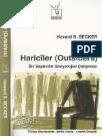 Howard S.becker Hariciler