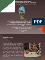 diapositivas bibliOTECOLOGÍA