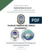 Plan de Trabajo Efida 2017-2018 Tercio Estudiantil