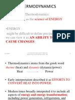 Thermodynamics Presentation