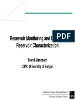 Reservoir Monitoring and Dynamic Reservoir Characterization