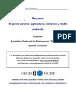 El Sector Porcino - Agricultura Comercio y Medio Ambiente