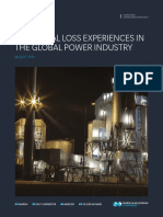 Historical Loss Experiences in the Global Power Industry-08-2014
