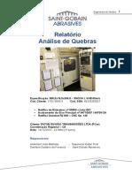 Relatório de Quebras - EATON (Retífica Angular BC) 14 12 2015