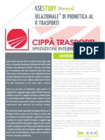 Il marketing relazionale di PhonEtica per Cippà Trasporti