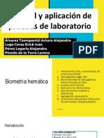 Utilidad y Aplicación de Pruebas de Laboratorio