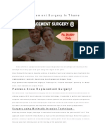 Knee Replacement Surgery in Thane