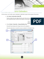 3 06 Modifying Resource Calendars