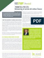 Il business process outsourcing al servizio del settore finance