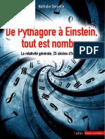 De Pythagore à Einstein, Tout Est Nombre (2012) - Nathalie Deruelle