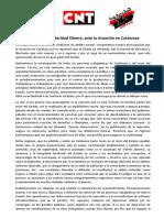 Comunicado Cgt, Cnt, So Cataluña-1