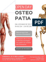 Flyer Osteopatia
