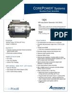 Astronics Starter Generator Unit (SGU)-PC-24