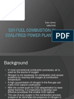 Oxy Fuel Combustion