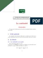 97236 Mathematiques Terminale Continuite Generalites