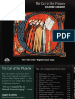 The Call of the Phoenix - Rare 15th-Century English Church Music