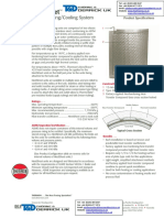 Tank and Vessel Trace Heating Thermon Temperature Maintenance and Frost Protection HeetSheet Spec Sheet