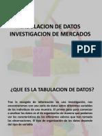 IME 6 - Tabulacion de Datos