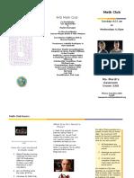 math club brochure 2017-2018
