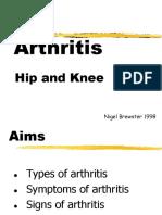 Student Arthritis Ortho