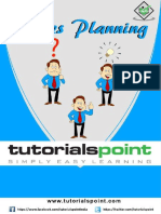 Sales Planning Tutorial