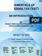 Fundamentals of Vat
