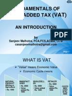 Fundamentals of Vat