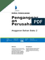 Modul Penganggaran Perusahaan [TM6].doc