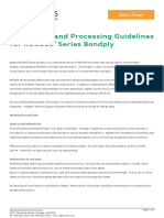 RO3000 Series BondplyData Sheet Processing Guidelines
