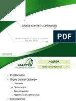 Presentación Grade Control Optimiser