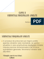 Curs3 Vibratiile Masinilor-unelte
