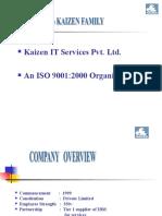 Kaizen Induction-External Employees