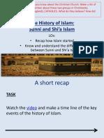 2  history of islam   sunni and shia rvw