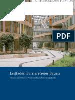 Barrierefreies Bauen Leitfaden Bf