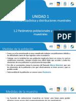 1.2.1 Los Parámetros Poblacionales y Los Estadísticos Muestrales
