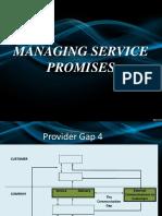 Gap 4 - Managing Service Promises