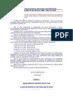 Petrobras - Portaria ANP Nº80 de 1999
