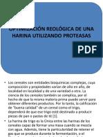 Optimización Reológica de Una Harina Utilizando Proteasas