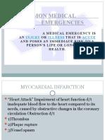 COMMON  MEDICAL   EMERGENCIES