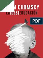 Chomsky La DesEducacion