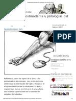 Subjetividad Postmoderna y Patologias Del Consumo _ Topía