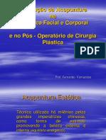 Acupuntura Estetica Facial e Corporal - SLIDES