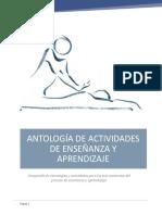 Antologia de Actividades de Enseñanza y Aprendizaje