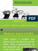 Maltrato Infantil Power Point