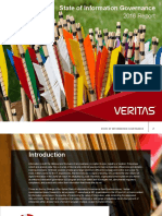 Veritas State of Information Governance Report