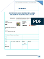 FORMATO N° 12 - ESPECIFICACIONES TECNICAS - MIRAFLORES