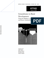 Foster 2000 - Groundwater in Rural Development Facing the Challenges of Supply and Resource Sustainability